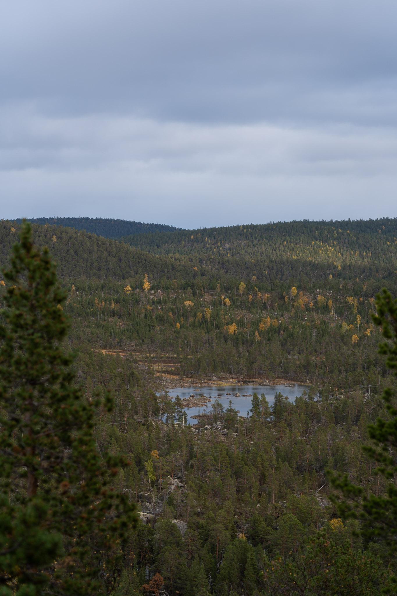 Sicht von Aussichtsplattform