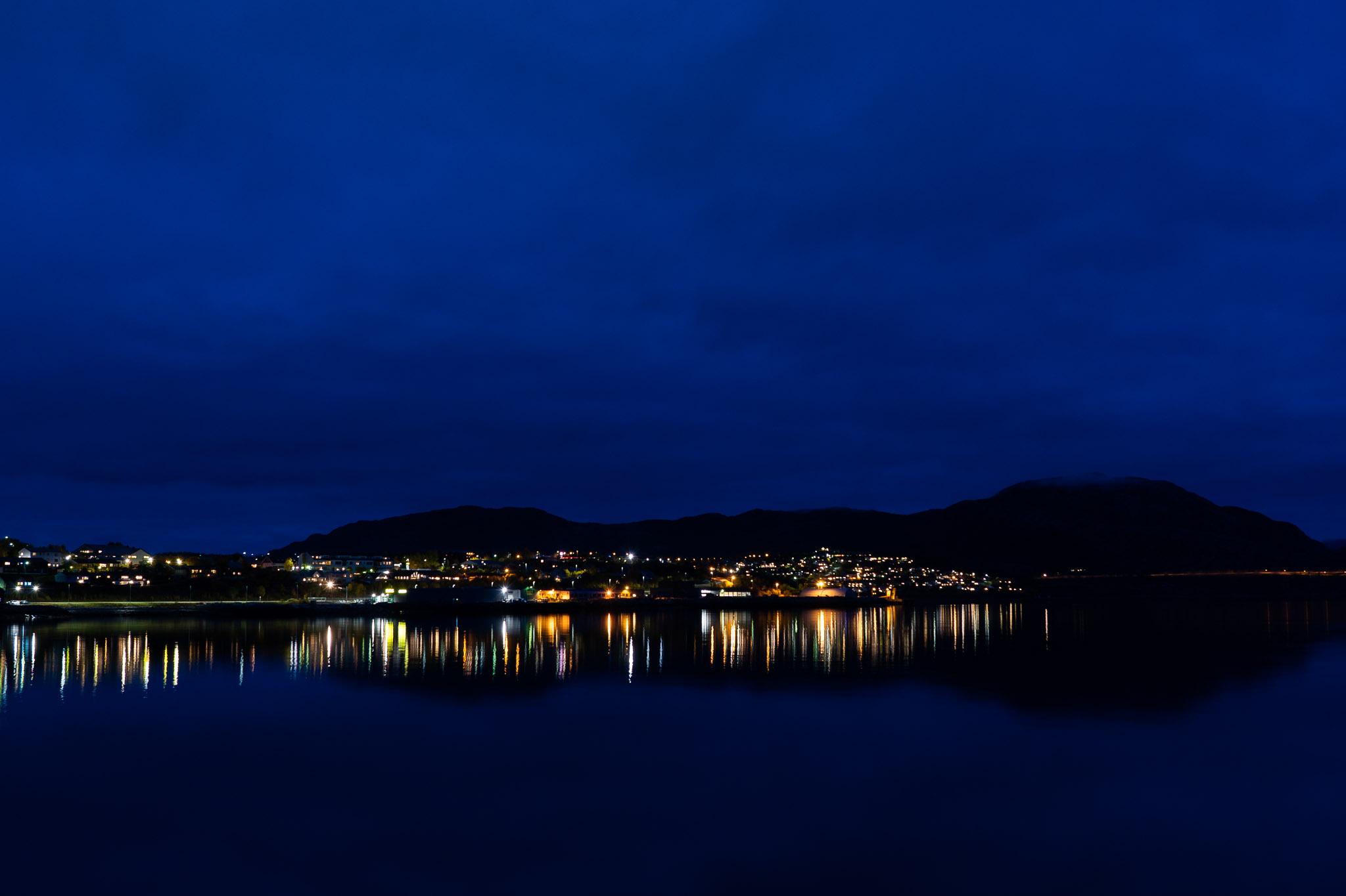 Alta bei Nacht