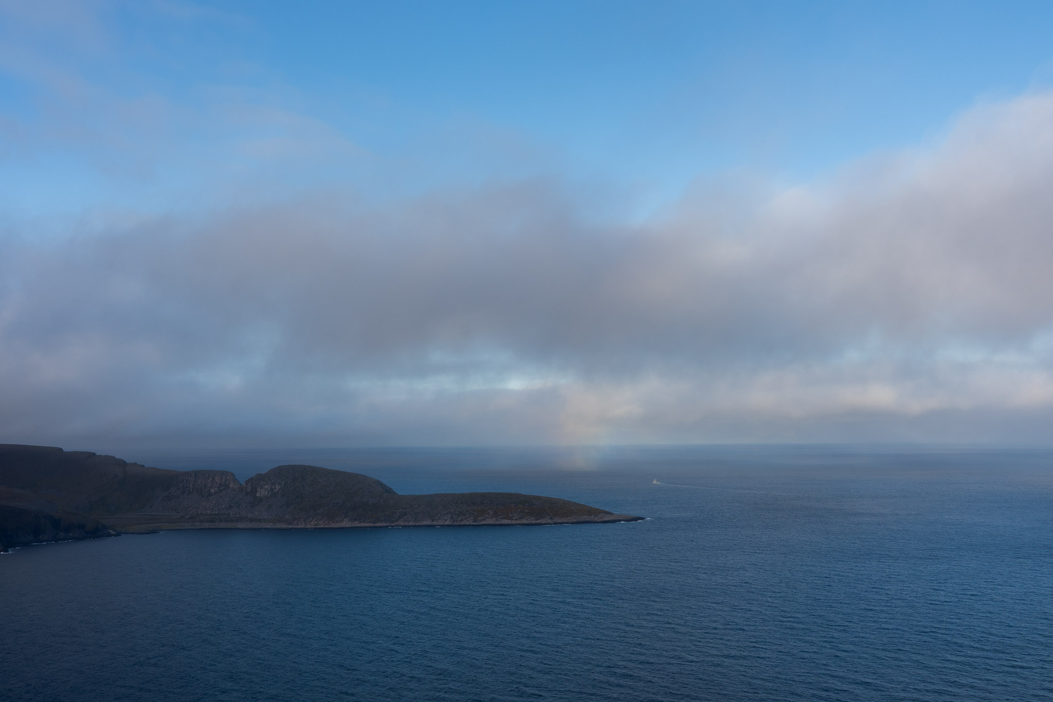 Nordkapp am Morgen
