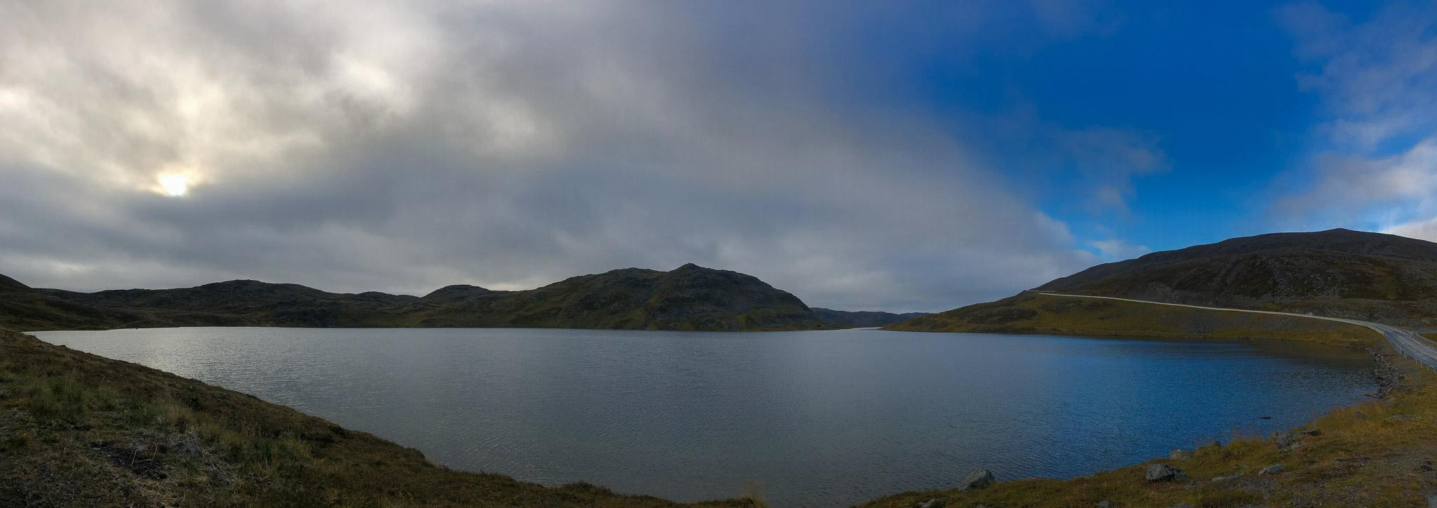 Päuschen an See auf Magerøya