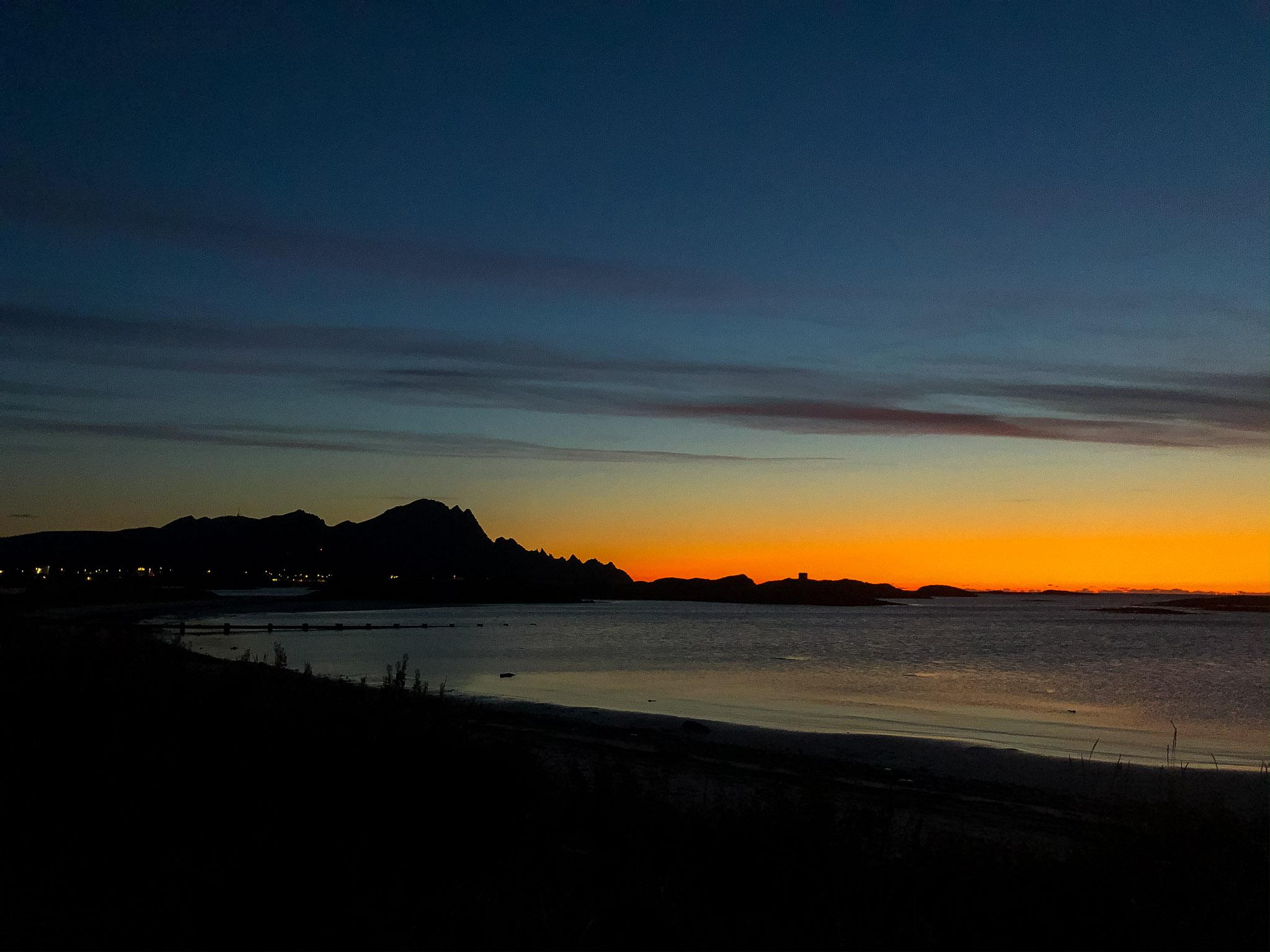 1h nach Sonnenuntergang