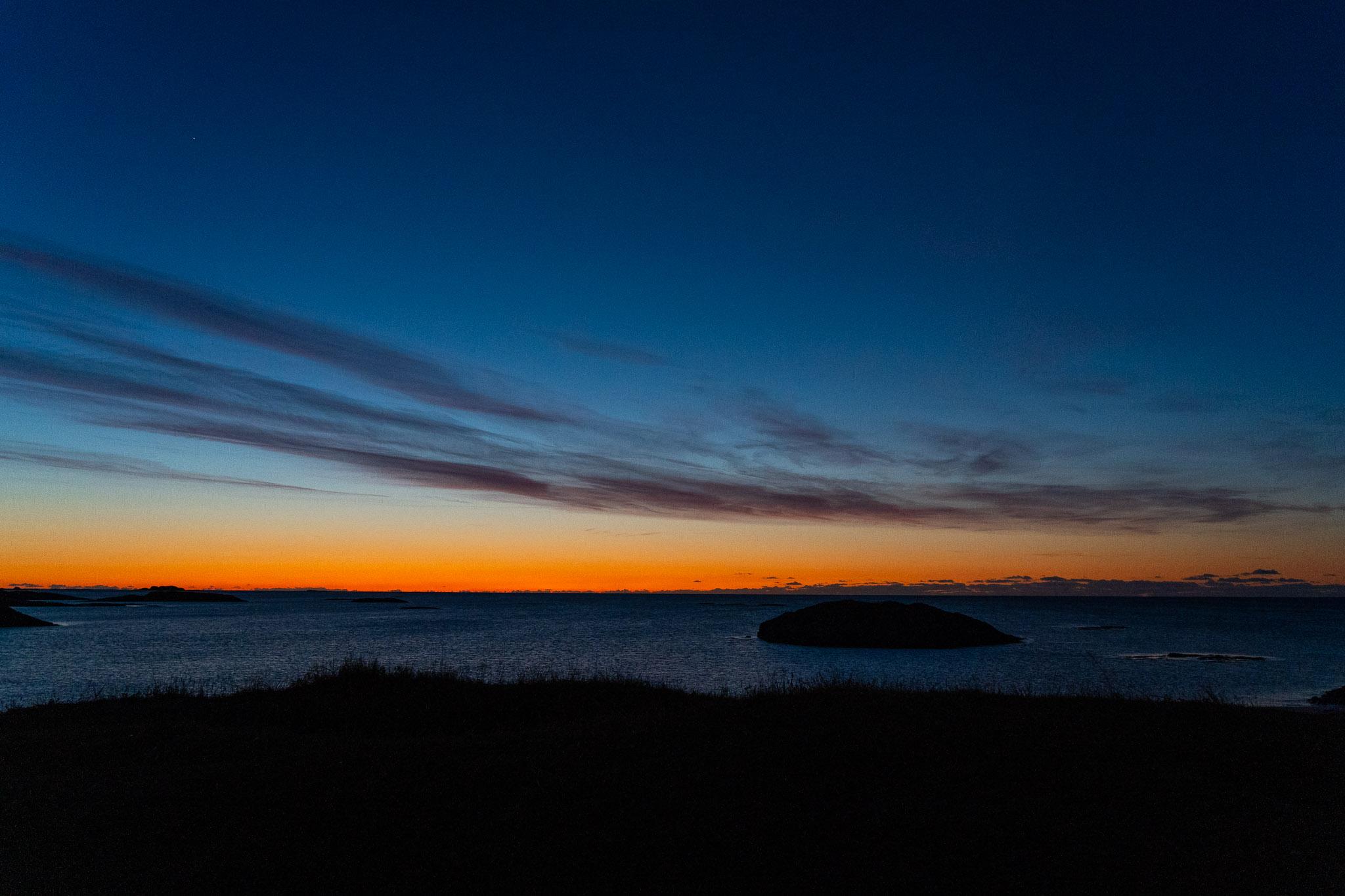 1.5h nach Sonnenuntergang