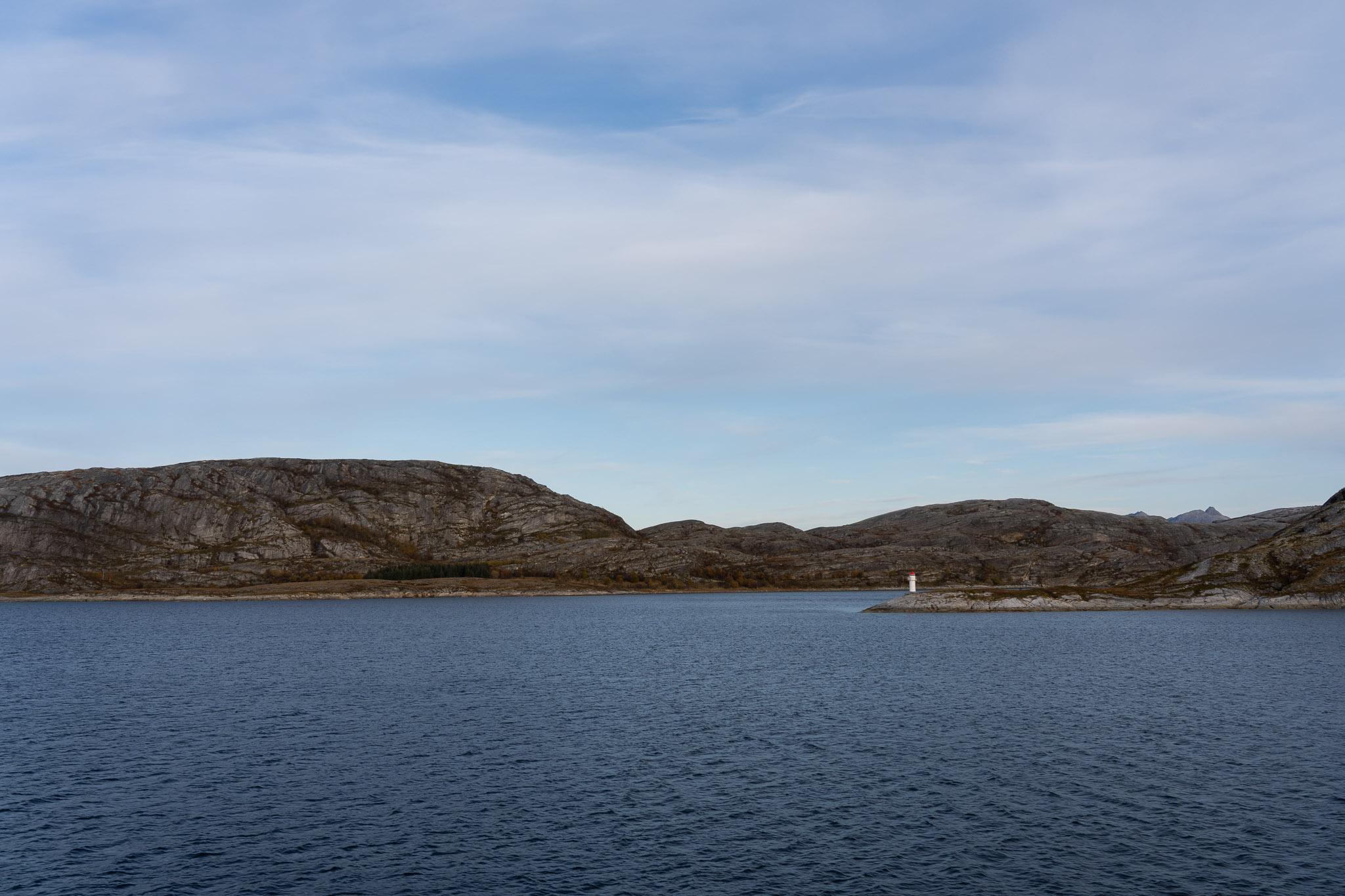 Einfahrt in Bodø