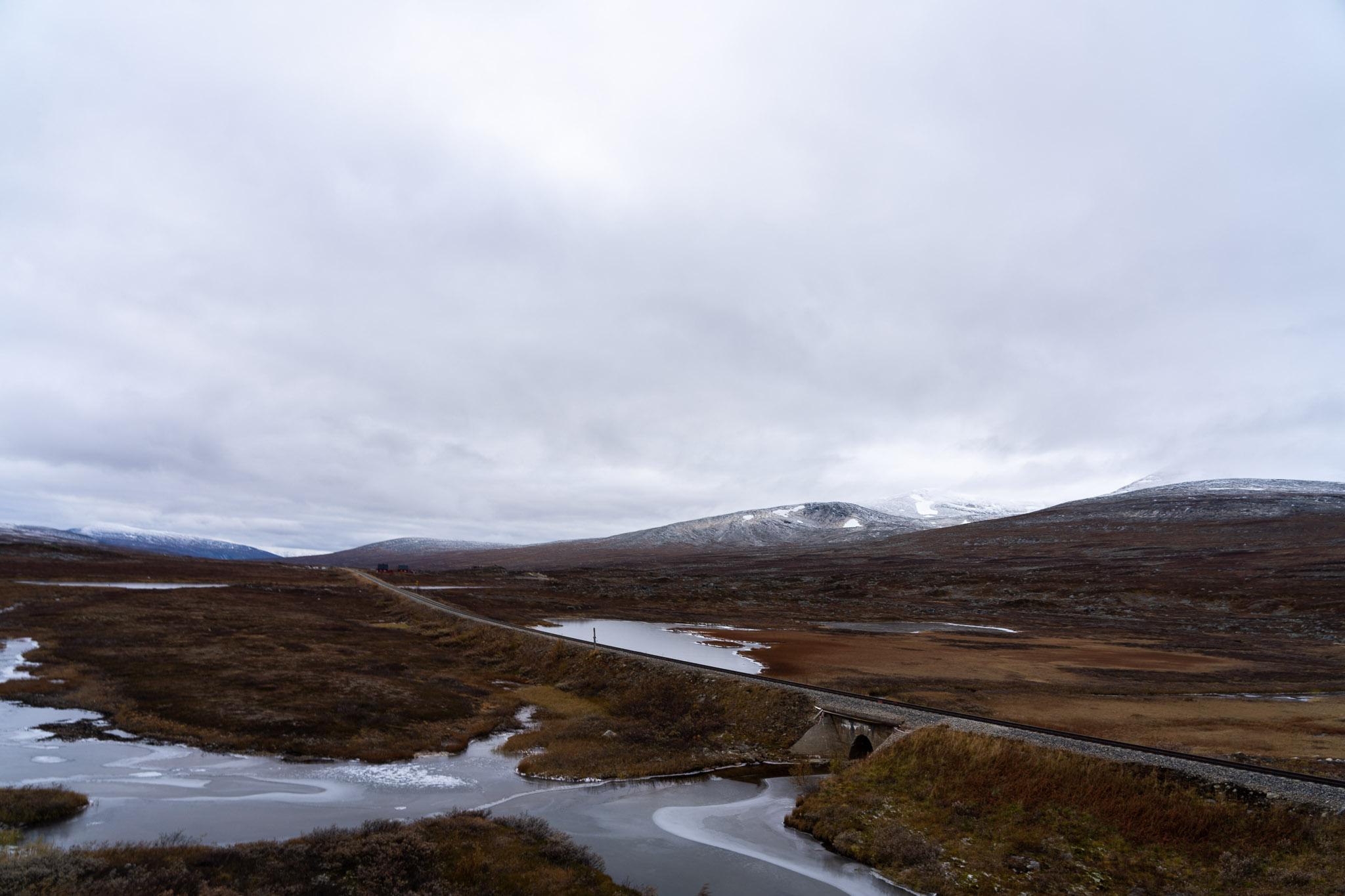 Zugefrorene Seen