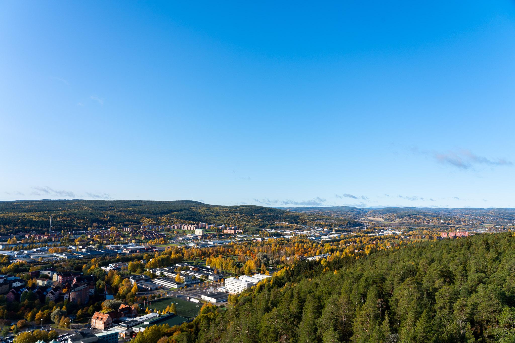 Sicht auf Sundsvall