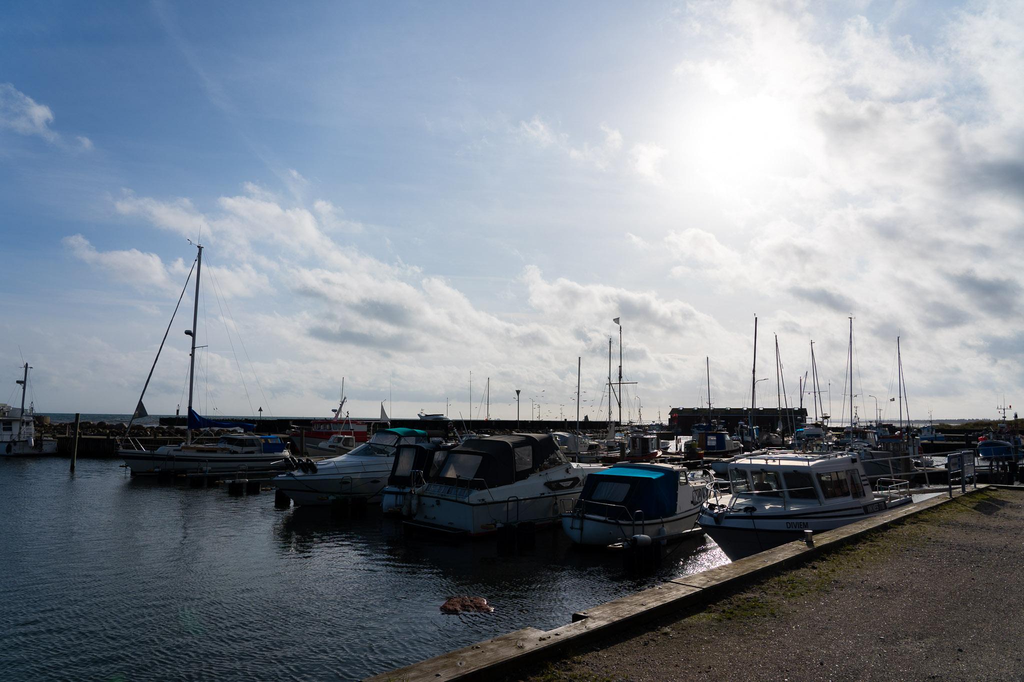 Hafen in Ålbæk