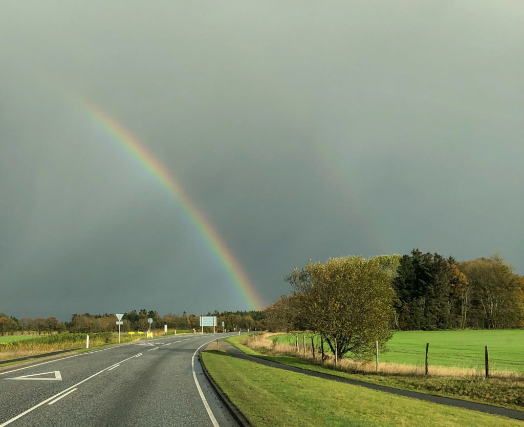 double Rainbow! (dafür braucht's eben Regen)