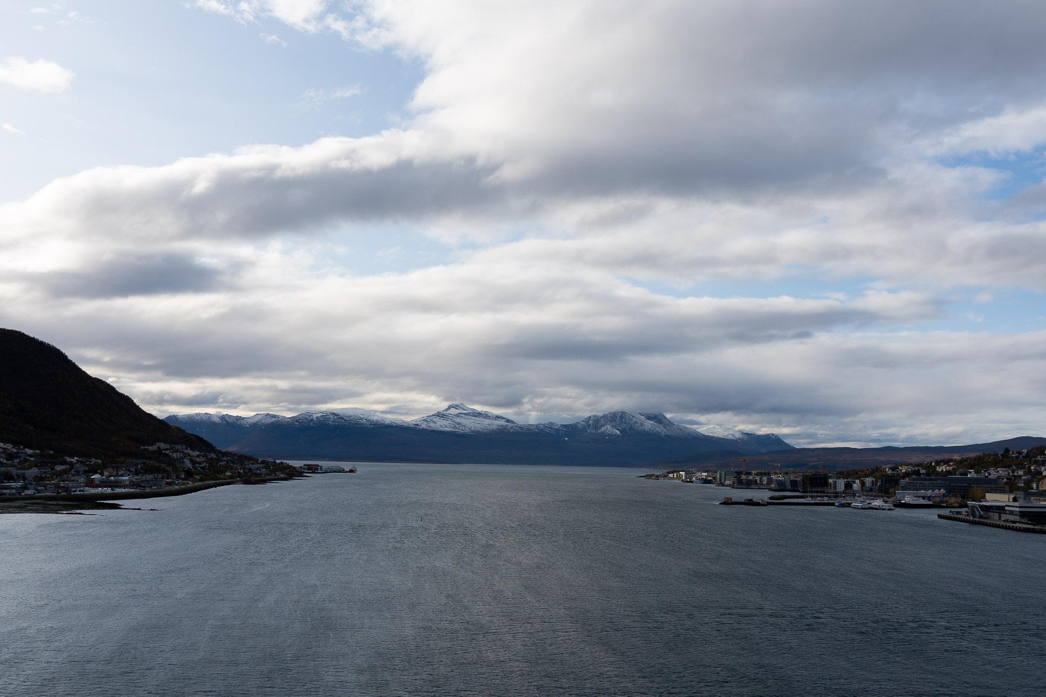 Aussicht ab Tromsøbrua